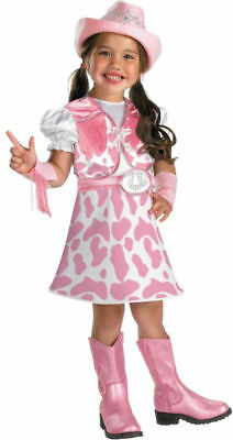 Morris Costumes Girls Western Cute Little Cowgirl Costume 4-6. DG50027L - Little Girl Cowgirl Dresses