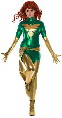 Rubies Marvel X-Men Pheonix Superhero Adult Womens Halloween Costume 821013 - Xmen Halloween Costumes