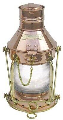Ankerlampe - Kupfer & Messing