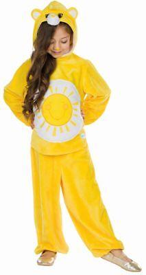 Rub - Glücksbärchis Kinder Kostüm Sonnenscheinbärchi - Glücksbärchi Kostüm Kinder