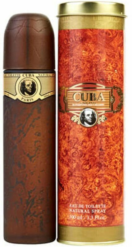 Cuba Gold By Cuba cologne for men EDT 3.3 / 3.4 oz New in Box