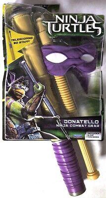 ESAR0247. Ninja Turtles DONATELLO Ninja Combat Gear Playmates Toys NIB (Teenage Mutant Ninja Turtles Donatello Combat Gear)