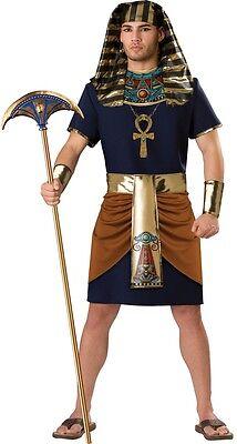 Herren 5 Stück Ägyptischer Pharao Historisch Kostüm Kleid Outfit