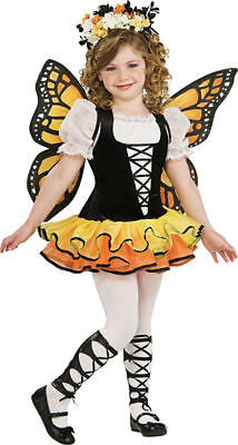 Butterfly Dress Up Costumes (Morris Costumes Girls Monarch Butterfly Child Costume 8-10.)