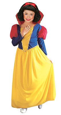 Klassisches Schneeweißchen Kinderkostüm NEU - Mädchen Karneval Fasching - Klassische Kind Kostüm