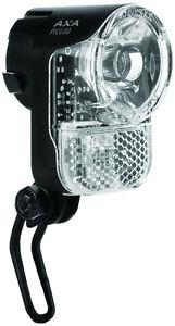 LED Scheinwerfer Fahrradlampe Nabendynamo Fahrrad LED AXA Pico Switch 30 Lux