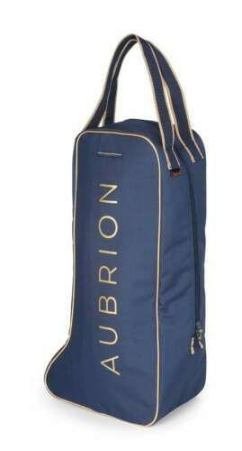 Shires Aubrion Team Navy Long Boot Horse Equine Tote Bag #8507