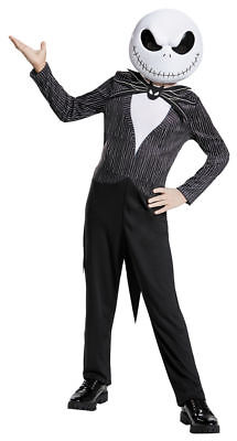 Jack Skellington Nightmare Before Christmas Disney Costume - Child Medium 8-10 - Disney Jack Skellington Costume Kids