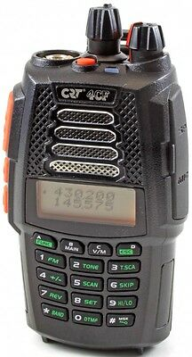 CB HAND HELD HAM AIR RADIO CRT 4CF DUAL BAND VHF 144-146 UHF 430-440 MHz