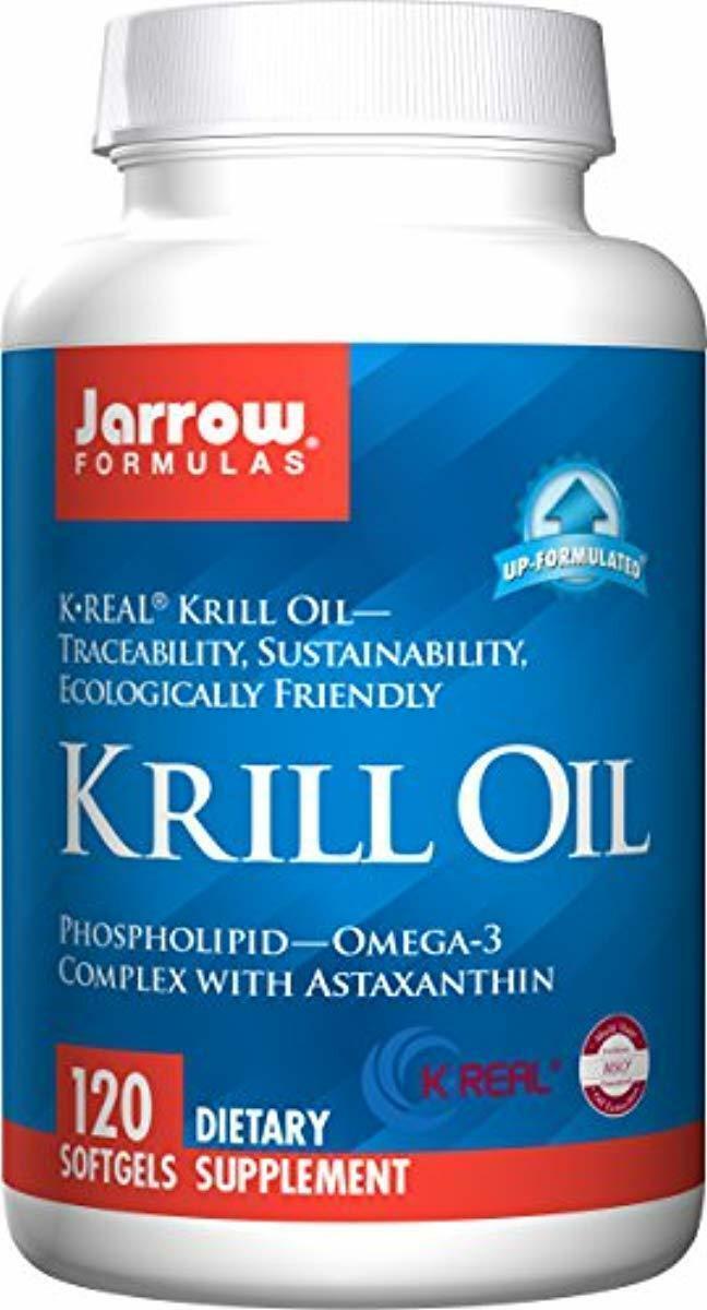 Jarrow Formulas Krill Oil with Phospholipid-Omega-3 Astaxant