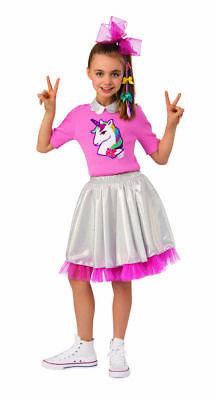 Kid In Costume (Rubies JoJo Siwa Unicorn Kid in Candy Store Childrens Halloween Costume)