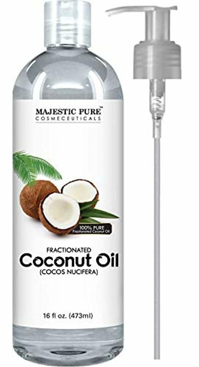 Majestic Pure Fractionated Coconut Oil, For Aromatherapy Rel