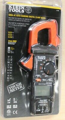 Klein Tools 600 Amp Ac True Rms Auto-ranging Digital Clamp Meter