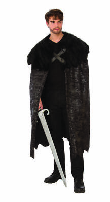 Rubies Dunkel Swordsman Game Of Thrones Jon Schnee Inspiriert - Game Of Thrones Inspiriert Kostüm