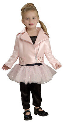 Toddler Biker Girl Halloween Costume (Lil' Road Mama Harley-Davidson Pink Biker Jacket Halloween Toddler Child)