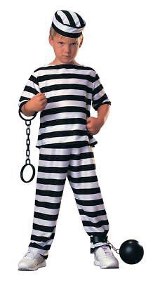 Rubies Gefangene Junge Gefängnis Criminial Überführen Kind Halloween (Gefangene Kind Kostüme)