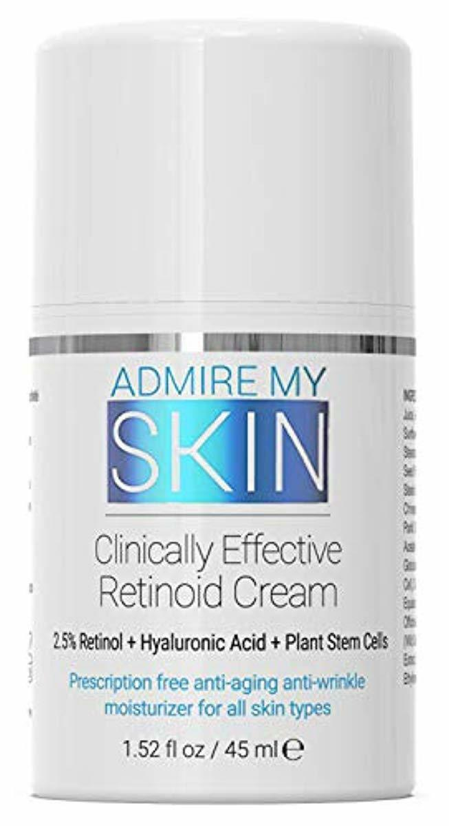 Potent Retinoid Cream Provides Clinical Retinol Results With