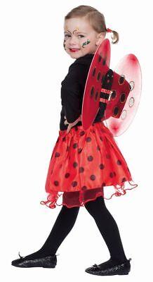Rub - Kinder Kostüm Zubehör Marienkäfer Flügel Rock - Halloween Marienkäfer Zubehör