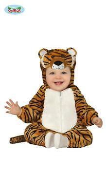 costume carnevale tigre tigrotto bambino neonato 12 - 18 mesi