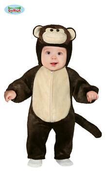 costume carnevale bambino neonato scimmietta scimmia 12 - 18 mesi