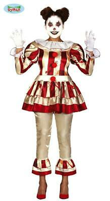 Costume clown pennywise donna horror halloween tg. L 42-44
