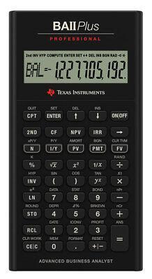 TI BA II Plus Professional Texas Instruments Finanzrechner