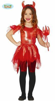 Costume halloween bambina diavoletta diavolessa tg. 7-9 anni