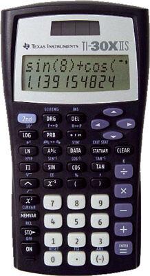 TI 30 X II S Texas Instruments Schulrechner Solar - Taschenrechner