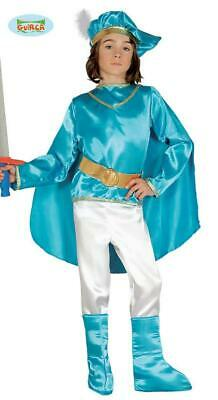Costume principe azzurro bambino 5 - 6 anni