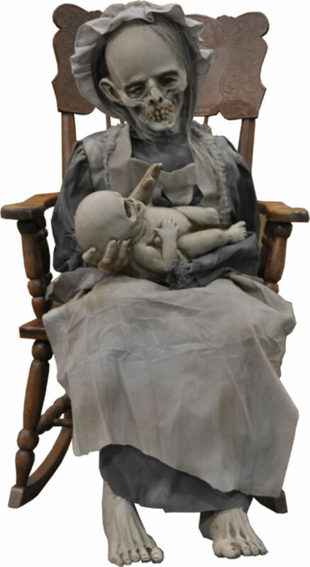 Morris Costumes Ghostly Mom Child Sound Activated Lullaby Animated Prop. DU2017