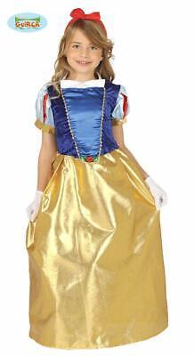 Costume Principessa Biancaneve Bambina