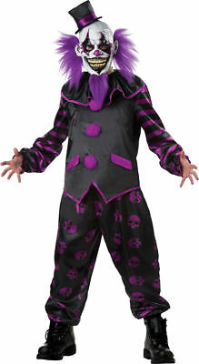 Morris Costumes Adult Unisex Polyester Bearded Clown Complete Outfit M. - Clown Outfit
