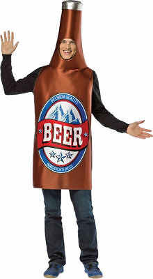 Morris Costumes Men's Lightweight Beer Bottle Funny Adult Costume. GC336 (Beer Bottle Costumes)