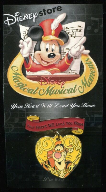 Magical Musical Moments Tigger Disney pin Your Heart Will Lead You Home Dangle