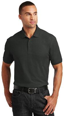 Port Authority Men's Short Sleeve Tall Core Classic Pique Polo Shirt. (Tall Pique Polo)