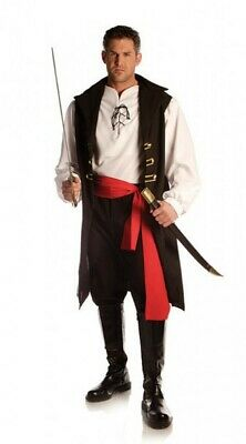 Captain Cutthroat Pirate Carribean Buccaneer Adult Men's One - Captain Cutthroat Kostüme