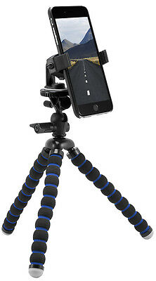 """Arkon 11"""" Tripod Mount with Phone Holder for Apple iPhone 11, 11 Pro, 11 Pro Max"""