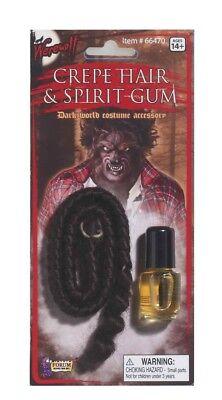Werewolf Costume Spirit Halloween (Werewolf Crepe Hair & Spirit Gum Costume)