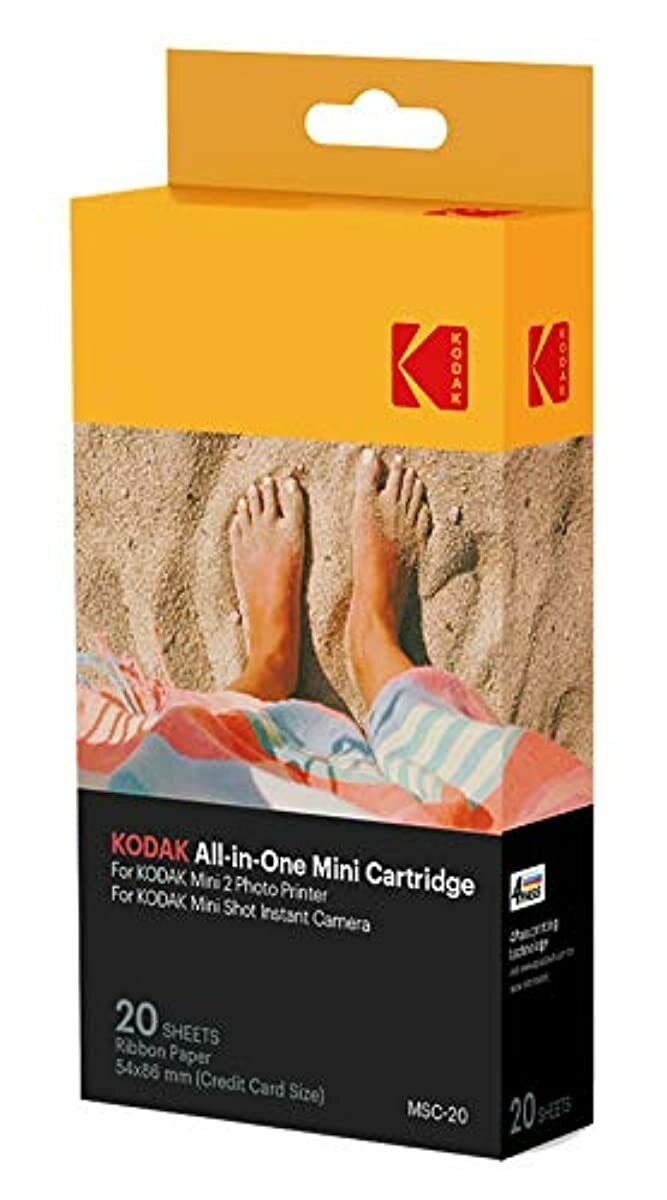 kodak all in one cartridge paper mini