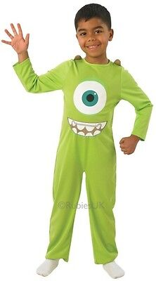 Jungen Monsters Inc Mike Grün Monster Halloween Kostüm