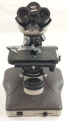 Nikon Labophot-2 Microscope With 4 Objective Lenses