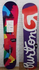 New 2017 Burton Genie ICS Womens Snowboard 152 cm