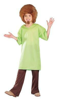 Scooby Doo: Shaggy Child's Costume Wig Goatee Shirt Size Large 12-14