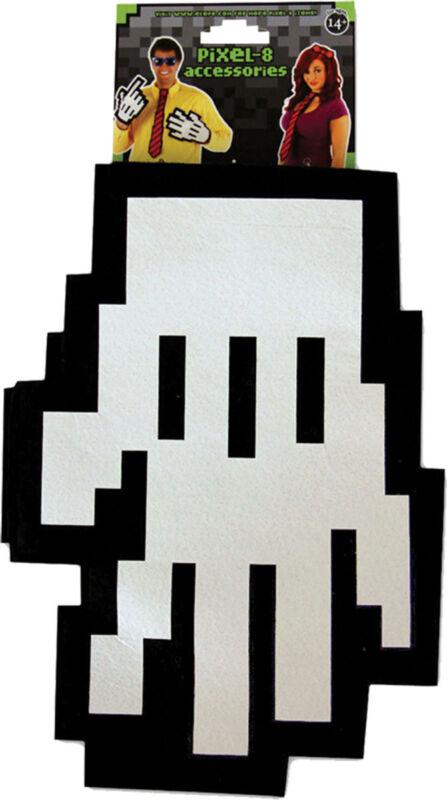 Morris Costumes Tech World At Your Fingertips Fun Pixel Gloves. EL433113