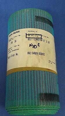 Voith Paper Blue Conveyor Roller Belt 8x89 Pzb