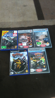 5 Games For PlayStation 2