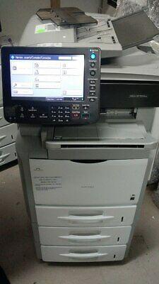 Ricoh Sp5200s Office Copier Network Printer Scanner 52ppm Fast Bw Xerox