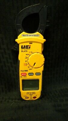 Uei Test Instruments Dl479 Clamp Meter2000uftrmsdigital Tdw009397