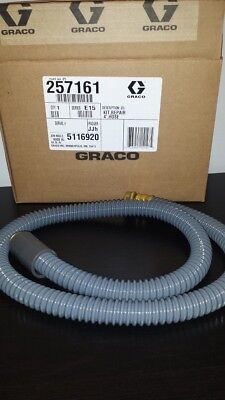 Graco HVLP Super Flex Whip Air Hose  4ft (Super Flex Whip)