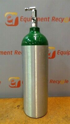 Luxfer Tc-3alm Hh26976 Oxygen Gas Cylinder Regulator Valve Medical Tank